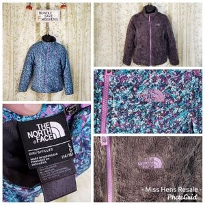 THE NORTH FACE REVERSIBLE GIRLS PUFFER WINTER COAT